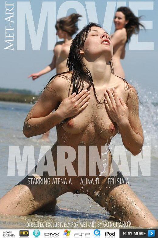 Atena A & Alina H & Felisia A - `Marinan` - by Goncharov for METMOVIES