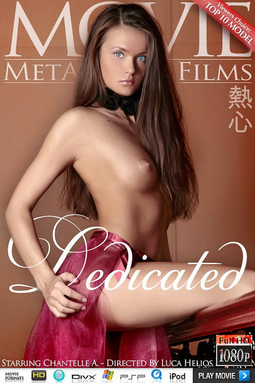 Chantelle A - `Dedicated` - by Luca Helios for METMOVIES