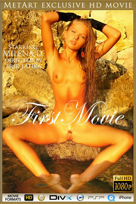 Milena D - `First Movie` - by Erik Latika for METMOVIES