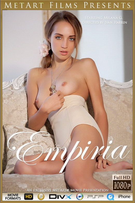 Milana G in Empiria video from METMOVIES by Ivan Harrin