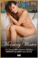 Dominika A in Morning Winter video from METMOVIES by Luca Helios