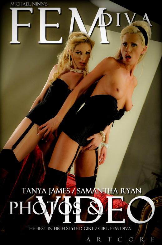 Samantha Ryan & Tanya James - `Fem #1061` - by Michael Ninn for MICHAELNINN ARCHIVES