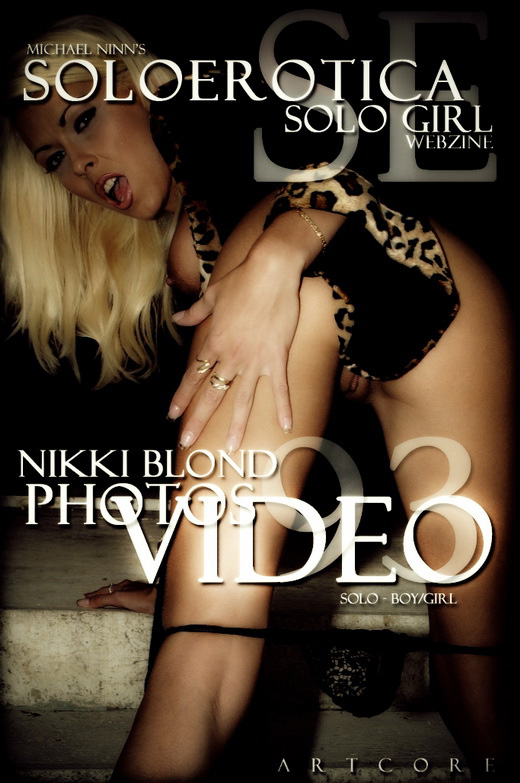 Nikki Blond - `SoloErotica #1246` - by Michael Ninn for MICHAELNINN ARCHIVES