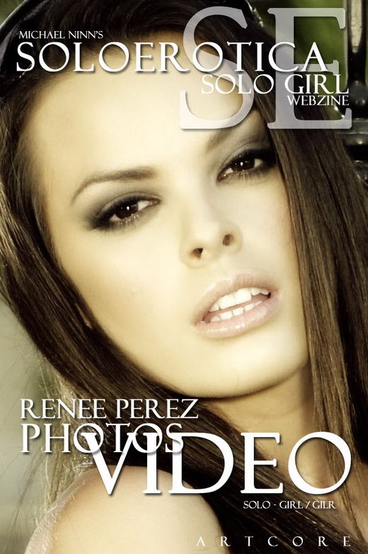 Renee Perez - `SoloErotica #1381` - by Michael Ninn for MICHAELNINN ARCHIVES