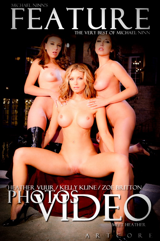 Heather Vandeven & Kelly Kline & Zoe Britton - `Features #477` - by Michael Ninn for MICHAELNINN ARCHIVES