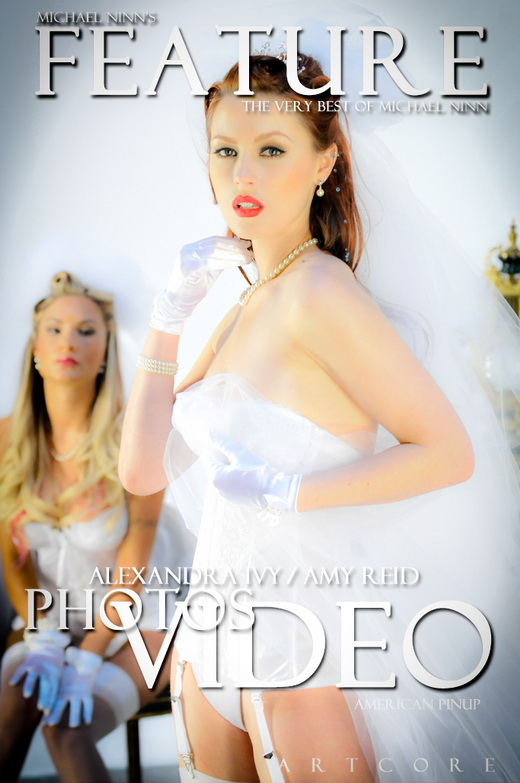 Alexandra Ivy & Amy Reid - `Features #548` - by Michael Ninn for MICHAELNINN ARCHIVES