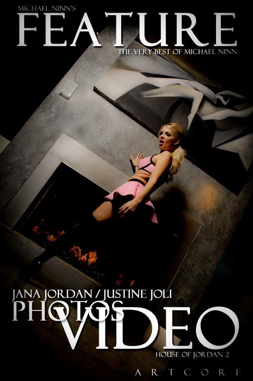Jana Jordan & Justine Joli - `Features #573` - by Michael Ninn for MICHAELNINN ARCHIVES