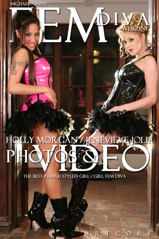 Holly Morgan & Jenaveve Jolie - `Fem #910` - by Michael Ninn for MICHAELNINN ARCHIVES