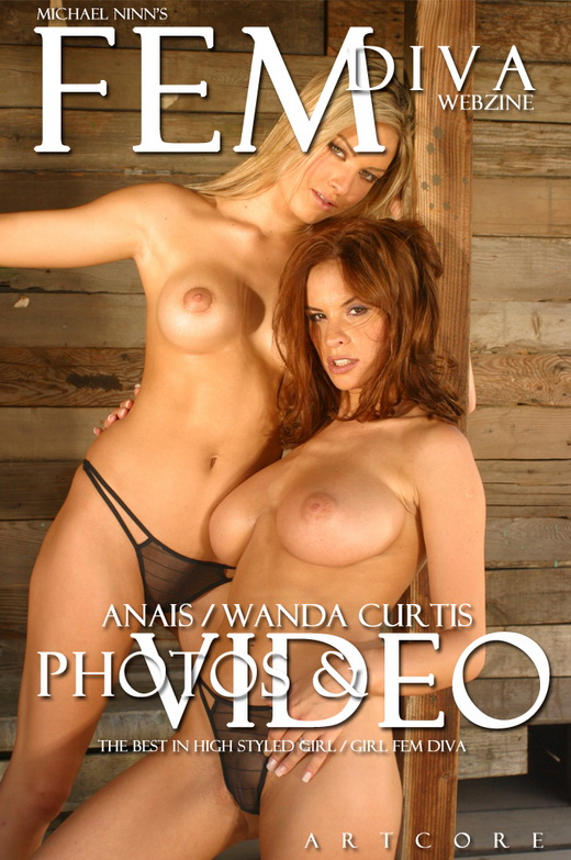 Anais & Wanda Curtis - `Fem #921` - by Michael Ninn for MICHAELNINN ARCHIVES