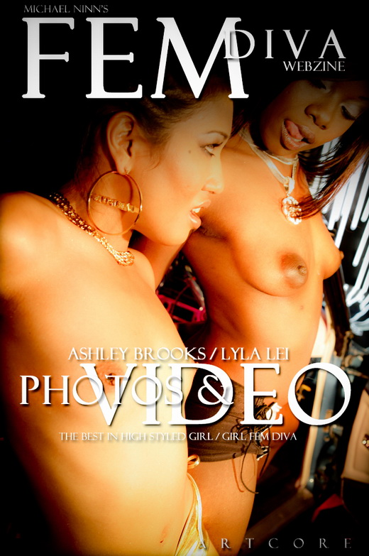 Ashley Brooks & Lyla Lei - `Fem #966` - by Michael Ninn for MICHAELNINN ARCHIVES