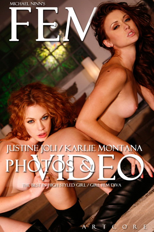 Heather Vandeven & Justine Joli & Karlie Montana - `Fem 8: L'amour - Scene 3` - by Michael Ninn for MICHAELNINN