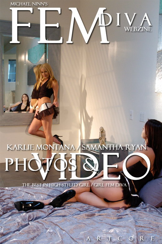 Karlie Montana & Samantha Ryan - `Fem 9: Staccato - Scene 1` - by Michael Ninn for MICHAELNINN