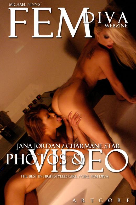 Charmane Star & Jana Jordan - `Fem 9: Staccato - Scene 5` - by Michael Ninn for MICHAELNINN