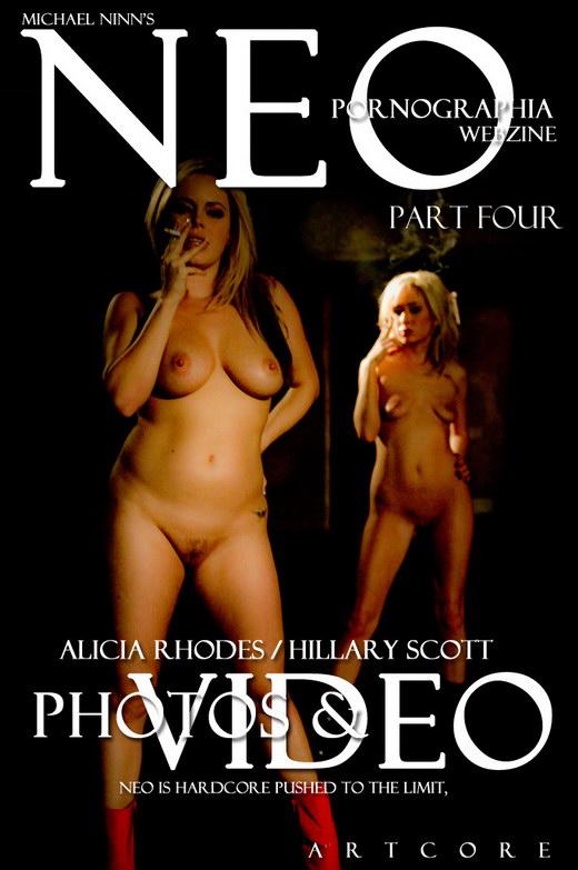 Alicia Rhodes & Hillary Scott - `Neo Pornographia 2 - Scene 2` - by Michael Ninn for MICHAELNINN