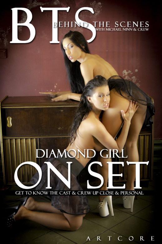Cassandra & Kenzie Ryan & Nikki Blond & Zara Mars - `Diamond Girl 1 - Behind The Scenes` - by Michael Ninn for MICHAELNINN