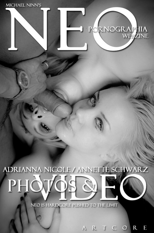 Adrianna Nicole & Annette Schwarz - `Pushed: Catfight 1 - Scene 4` - by Michael Ninn for MICHAELNINN