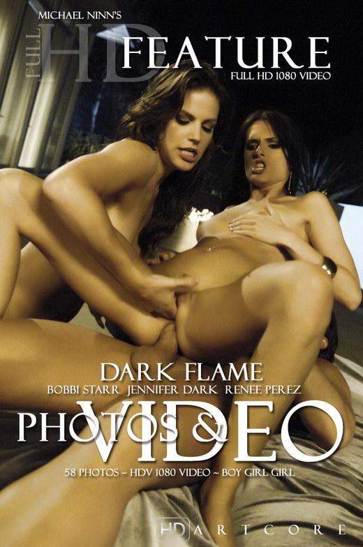 Bobbi Starr & Jennifer Dark - `Dark Flame Burning` - by Michael Ninn for MICHAELNINN
