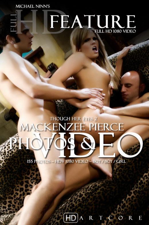 MacKenzee Pierce - `Thought Her Eyes II Sc4 - MacKenzee Piece` - by Michael Ninn for MICHAELNINN