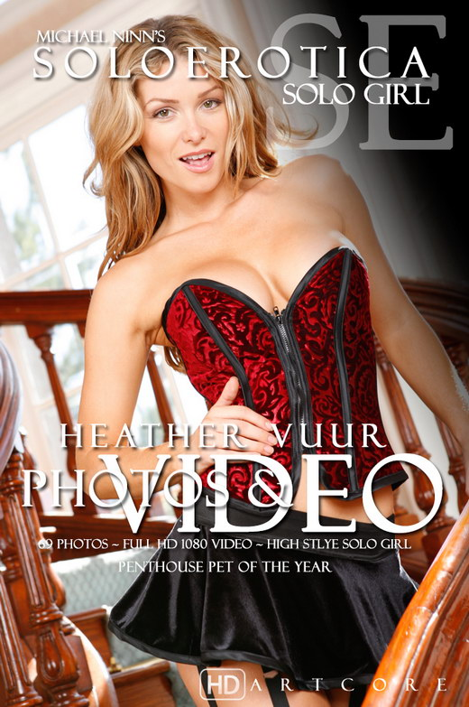 Heather Vandeven - `Meet Heather - Soloerotica` - by Michael Ninn for MICHAELNINN