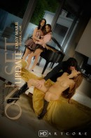 Daisy Marie & Jennifer Dark & Renee Perez & Charles Dera - On Set Dark Flame - Daisy Marie