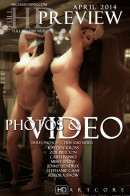 Audrey Hollander & Aurora Snow & Carli Banks & Jenny Hendrix & Kayden Kross & Zoe Britton in April Preview from MICHAELNINN