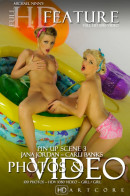 Carli Banks & Jana Jordan - America Pin Up - Scene 3