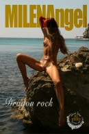 Milena in Dragon Rock gallery from MILENA ANGEL by Erik Latika