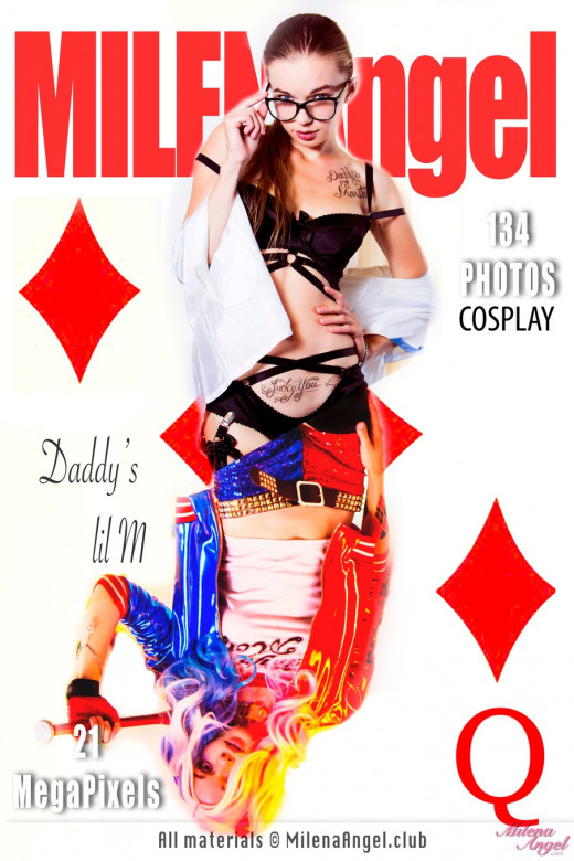 Milena Angel - `Daddy's lil M` - for MILENA ANGEL