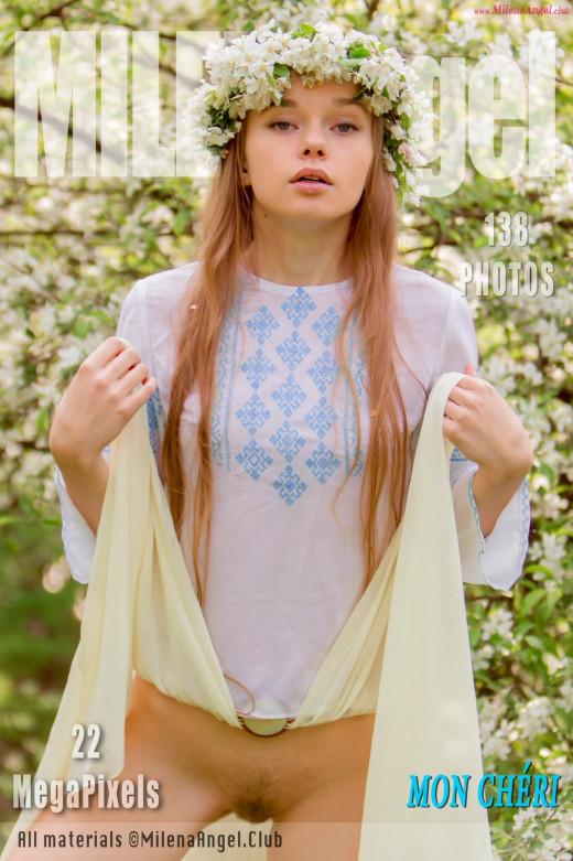 Milena Angel in Mon Cheri gallery from MILENA ANGEL by Erik Latika