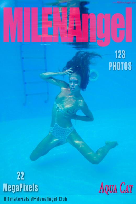 Milena Angel in Aqua Cat gallery from MILENA ANGEL by Erik Latika