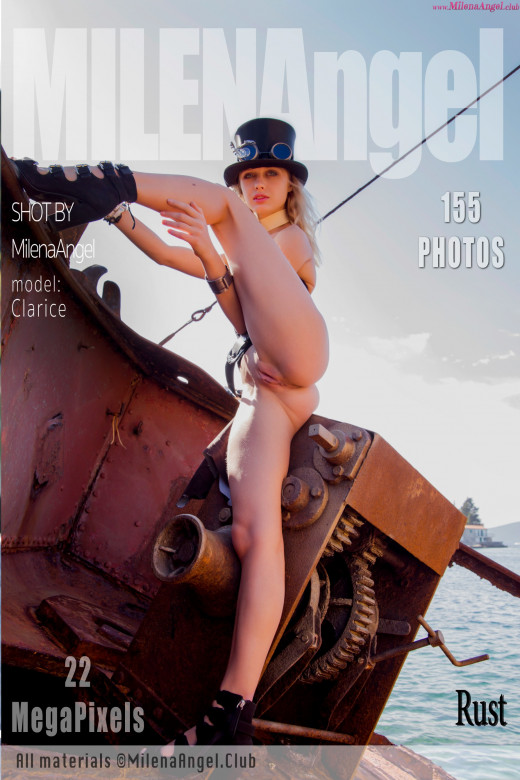 Clarice in Rust gallery from MILENA ANGEL by Milena Angel