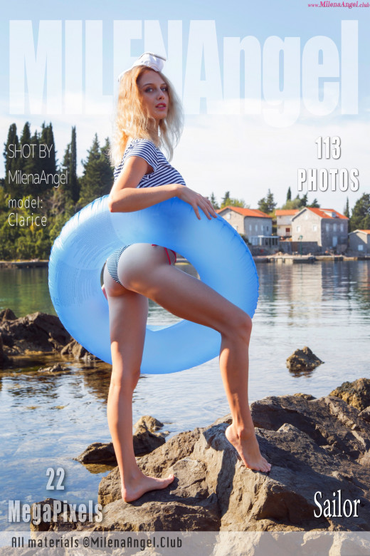 Clarice in Sailor gallery from MILENA ANGEL by Milena Angel