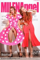 Milena Angel & Marianna M in PinUp Dolls gallery from MILENA ANGEL by Erik Latika
