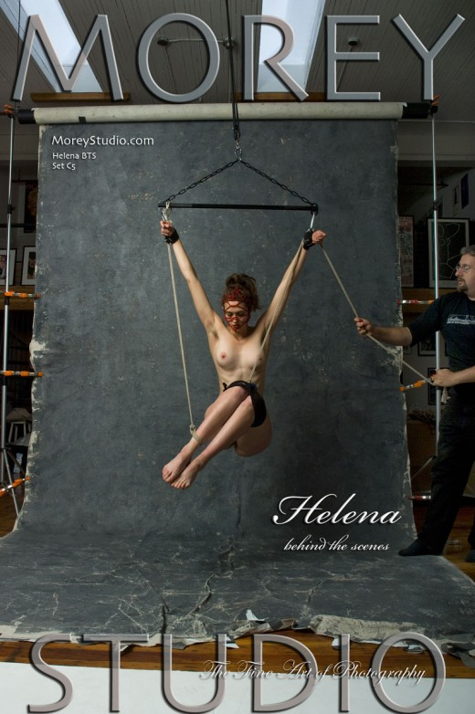 Helena - `C5 - Behind The Scenes` - by Craig Morey for MOREYSTUDIOS
