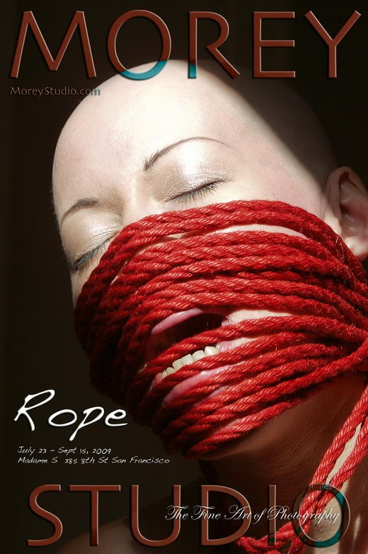 Kumi - `Rope Exhibition` - by Craig Morey for MOREYSTUDIOS
