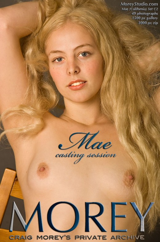 Mae - `C2 - Casting Session` - by Craig Morey for MOREYSTUDIOS2