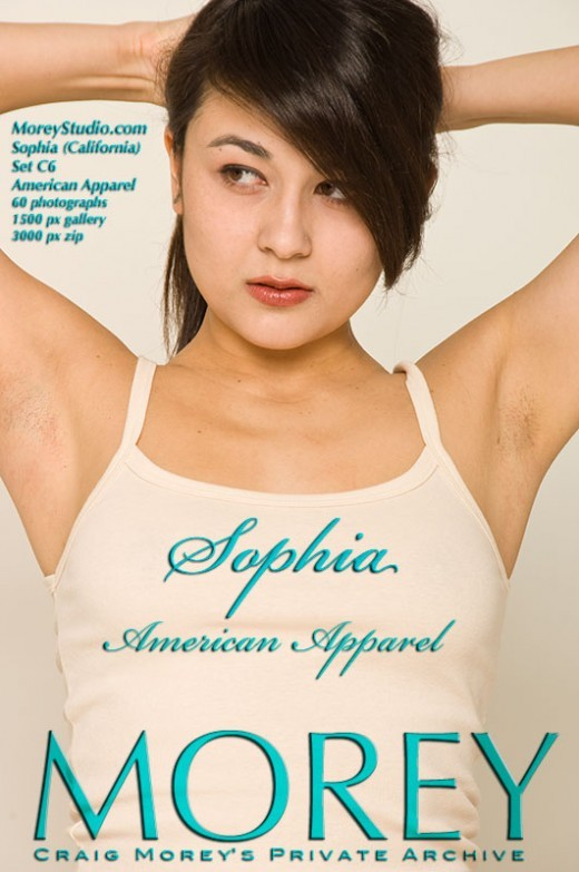 Sophia - `C6 - American Apparel` - by Craig Morey for MOREYSTUDIOS2