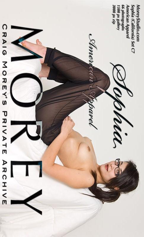 Sophia - `C7 - American Apparel` - by Craig Morey for MOREYSTUDIOS2