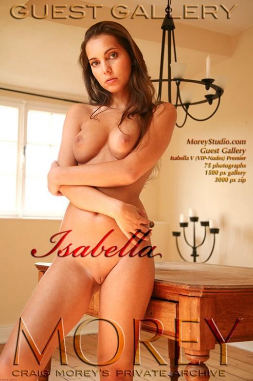 Isabella - `Guest Gallery ( VIP-Nudes) - Premier` - by Craig Morey for MOREYSTUDIOS2