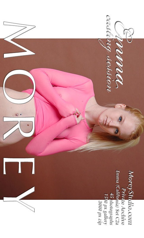 Emma - `C2A - Casting Session` - by Craig Morey for MOREYSTUDIOS2
