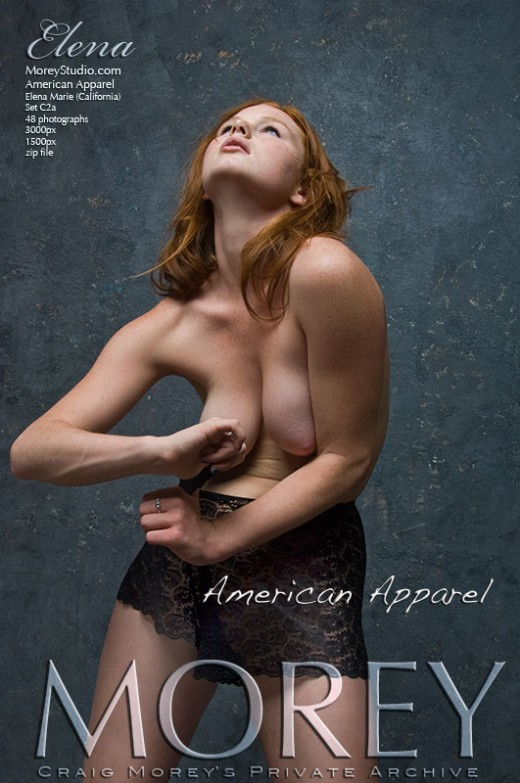 Elena - `C2A - American Apparel` - by Craig Morey for MOREYSTUDIOS2