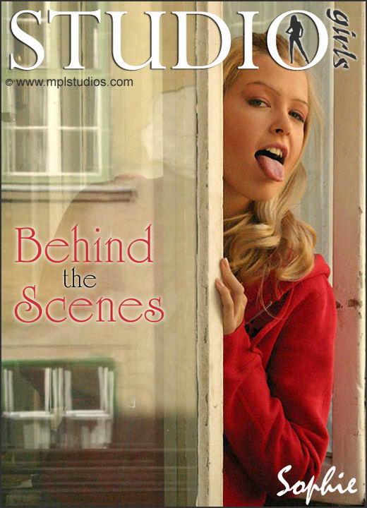Sophie Moone in Behind The Scenes gallery from MPLSTUDIOS