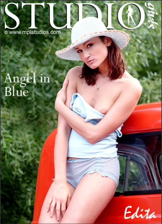 Edita - `Angel In Blue` - by Chris Danneffel for MPLSTUDIOS