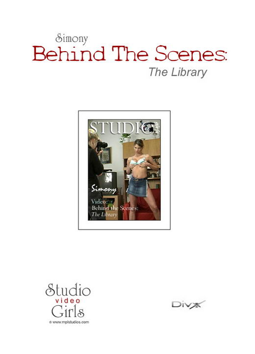 Simony in The Library:Behind The Scenes video from MPLSTUDIOS