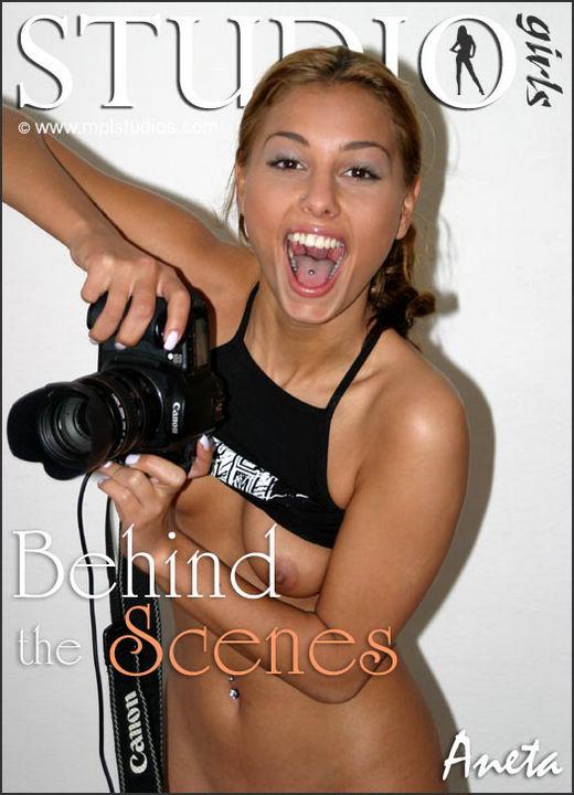 Aneta Keys in Behind The Scenes gallery from MPLSTUDIOS