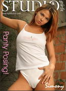 Simony in Panty Posing gallery from MPLSTUDIOS