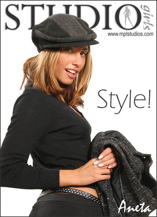 Aneta Keys in Style! gallery from MPLSTUDIOS
