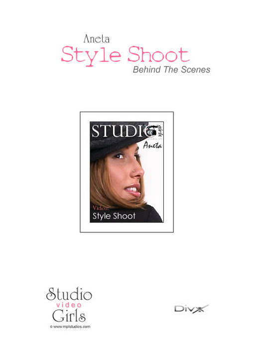Aneta Keys in Style Shoot: Behind The Scenes video from MPLSTUDIOS