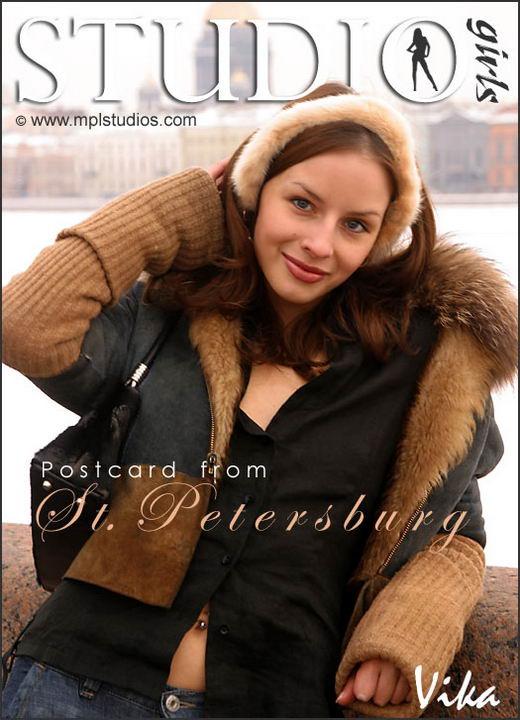 Vika in Postcard From St. Petersburg gallery from MPLSTUDIOS by Alexander Fedorov