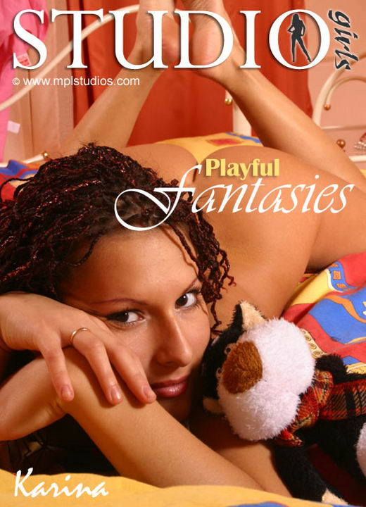 Karina - `Playful Fantasies` - by Alexander Fedorov for MPLSTUDIOS